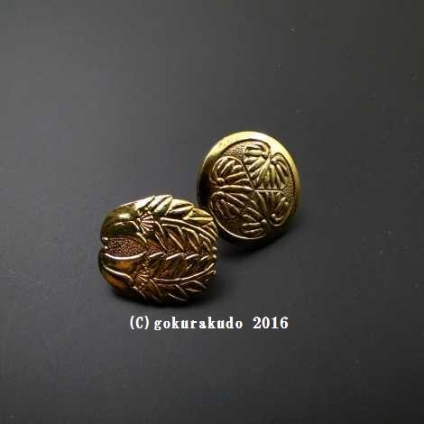浄土宗向け、御詠歌『持鈴』用の『紋』2つ一組の画像