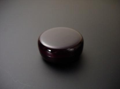 香合(お香入れ) プラスチック製溜色の画像