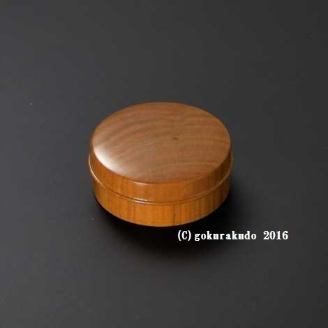 香合(お香入れ) 桜製香合 2.2寸(ネジ付き)-Hの画像