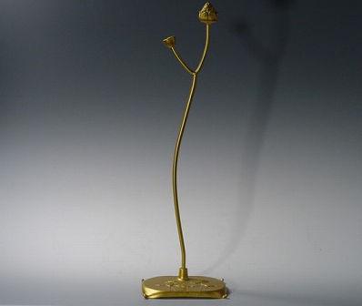 数珠掛け/蓮型 金色(大)(金属製)の画像