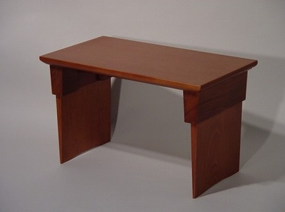 経机・折り畳み机/家具調仏壇用経机(ライトブラウン色) の画像