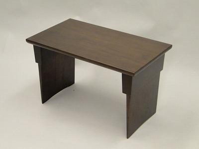 経机・折り畳み机/家具調仏壇用経机(ブラウン色) の画像