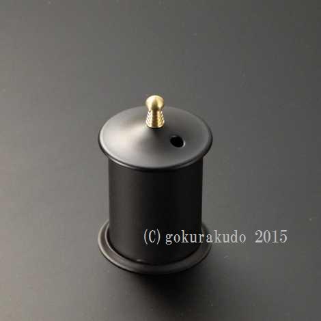仏塔型マッチ消 (鉄製) の画像