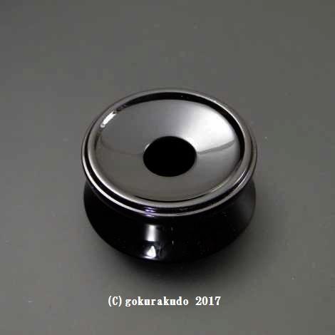りん台/丸輪台(木製) 溜 3寸の画像