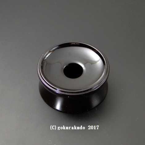 りん台/丸輪台(木製) 溜 3.5寸の画像