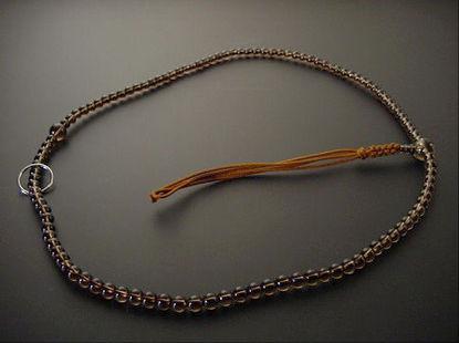 (数珠修理)臨済・曹洞宗本連 尺2以下サイズ(正絹紐房) の画像