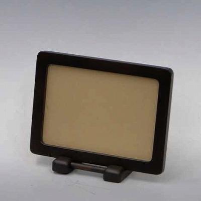写真立 木製枠 ブラウン色(L判用)の画像
