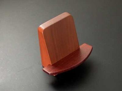 家具調向け見台(過去帳の台)ライトブラウン色(無垢材) の画像
