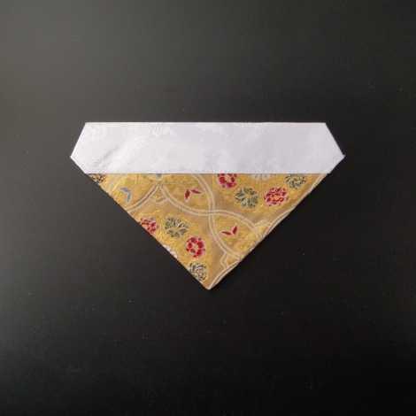 三角打敷 正絹 もっと超小型 金地2-Hの画像