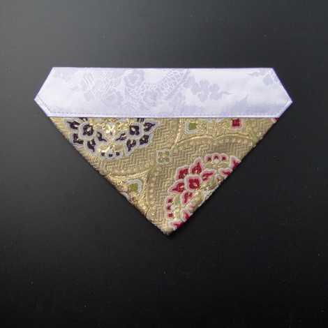 三角打敷 正絹 超小型 金地5-Hの画像