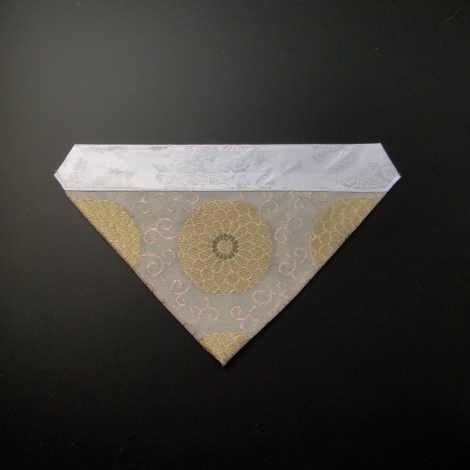 三角打敷 紗(夏用)50代 白地 2-Hの画像