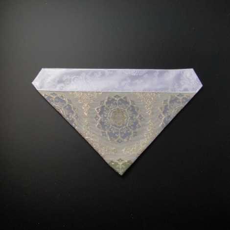 三角打敷 紗(夏用)50代 白地 4-Hの画像