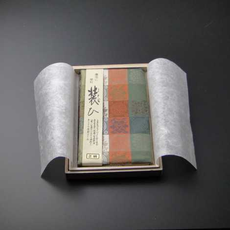 数珠入れ付き 金封ふくさ(正絹) 遠州-Hの画像