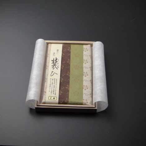 数珠入れ付き 金封ふくさ(正絹) 織部 Hの画像