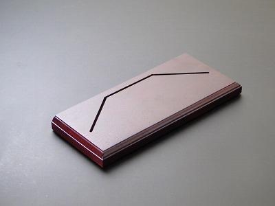 超小型3つ折り本尊、専用台(木製) の画像