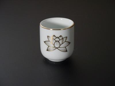 湯飲み・茶湯器/蓮絵柄1.6寸の画像