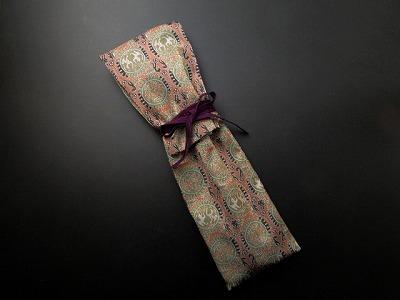 錫杖袋(錫杖入れ) 茶色系正倉院柄(通常サイズ)  sの画像