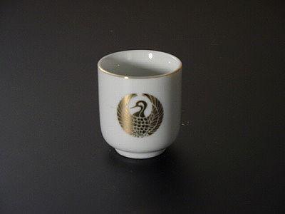 湯飲み・茶湯器/鶴丸 1.6寸 sの画像