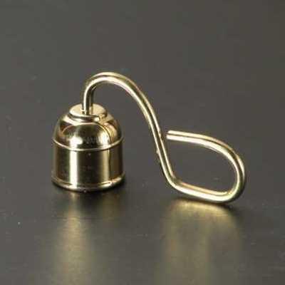 ローソク消し 真鍮製磨き(豆)の画像