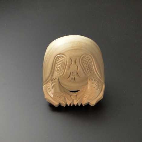 木魚 本楠製 4寸[K印] (中国産)の画像