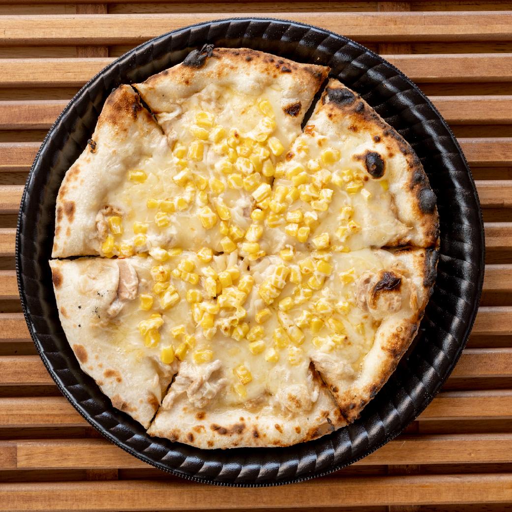 パン屋さんの長時間発酵ピザ ツナマヨコーン画像