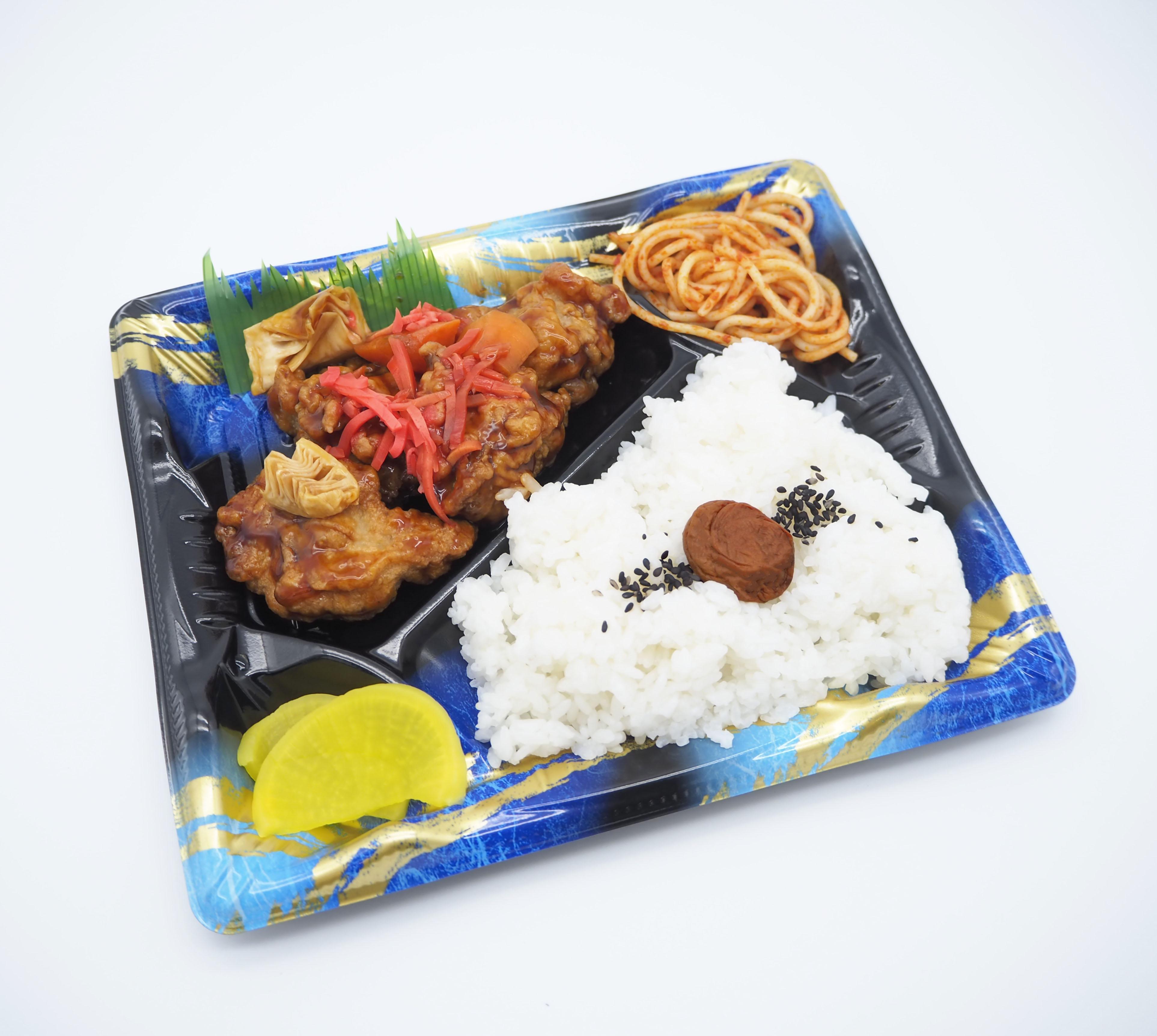 【前々日午前中まで注文受付】高浜市 ごはんの里エザカさんの『甘酢唐揚弁当』画像