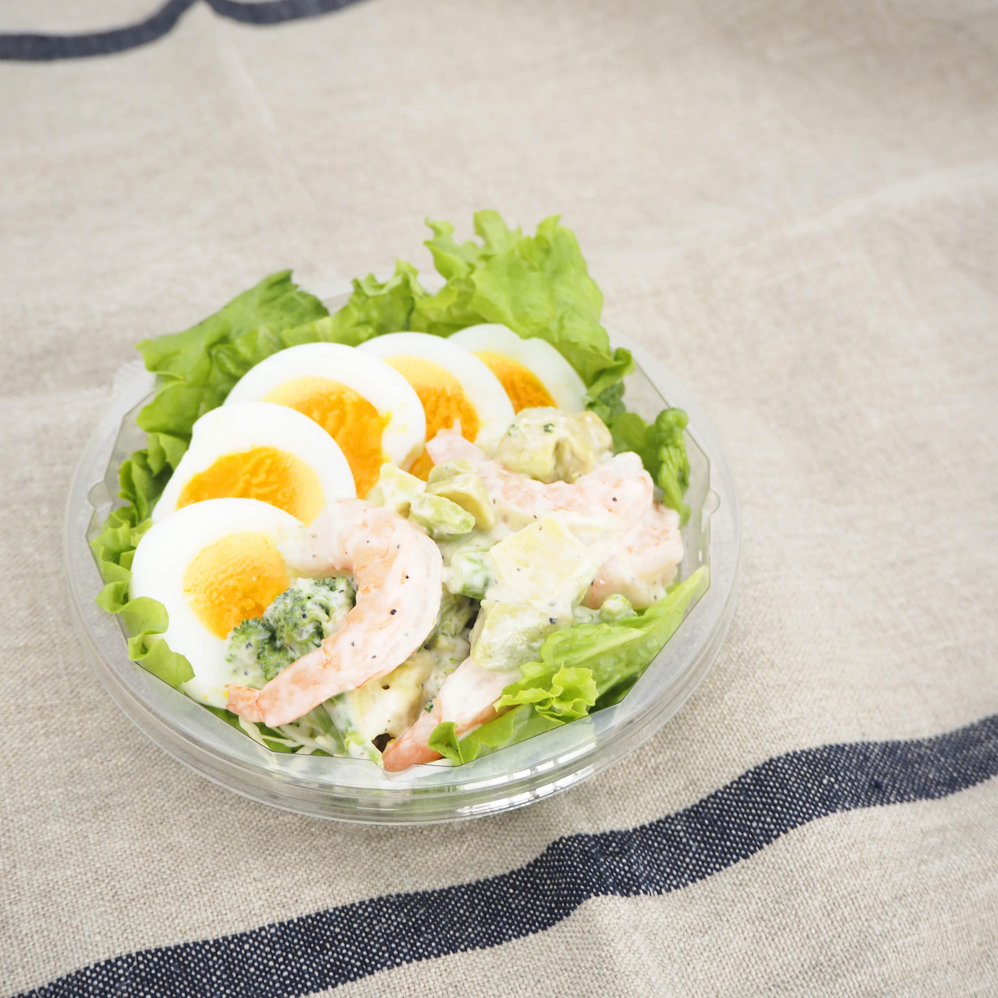 サラダ『えびアボカド』+ドリンクセット画像