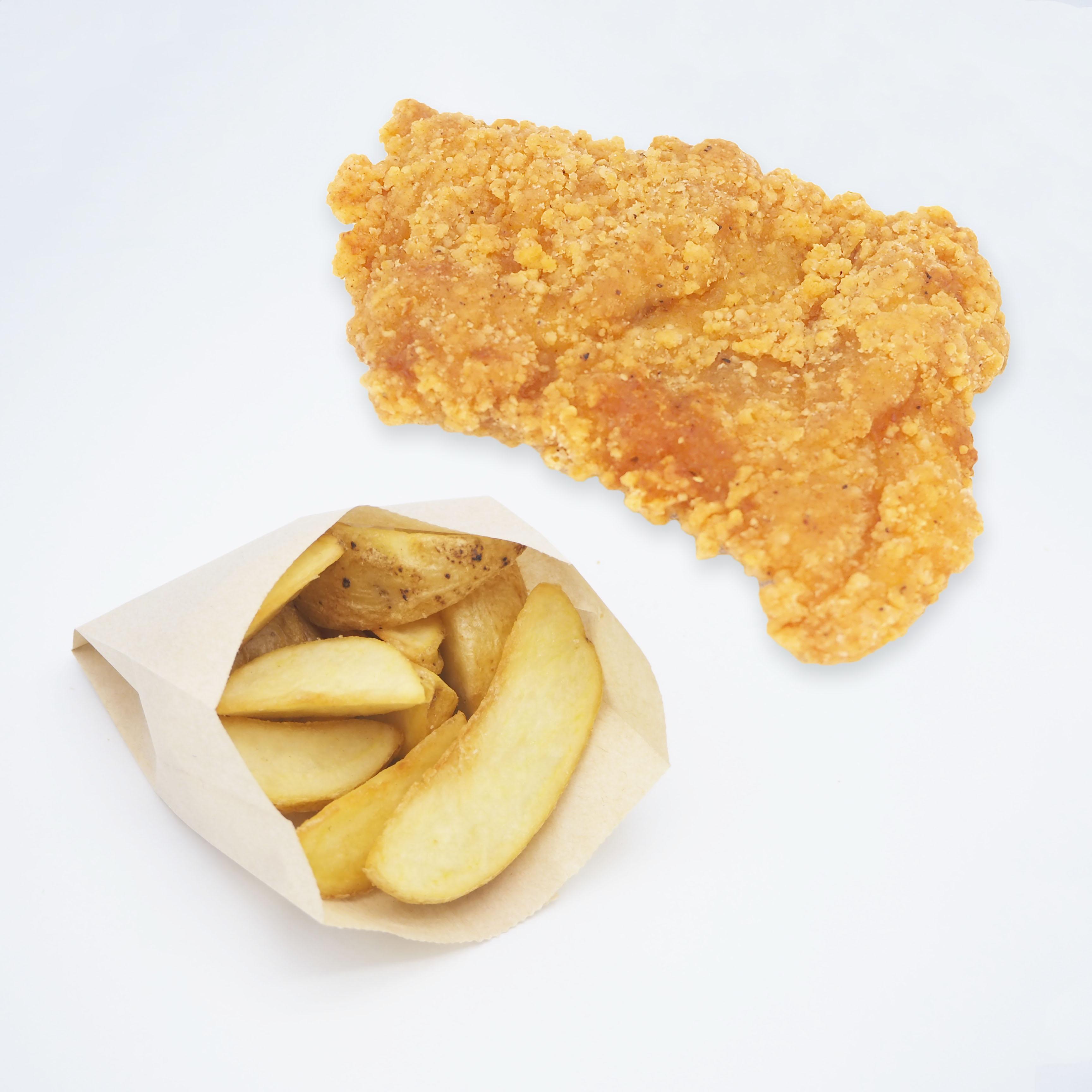 グラチキ+ポテトセット画像