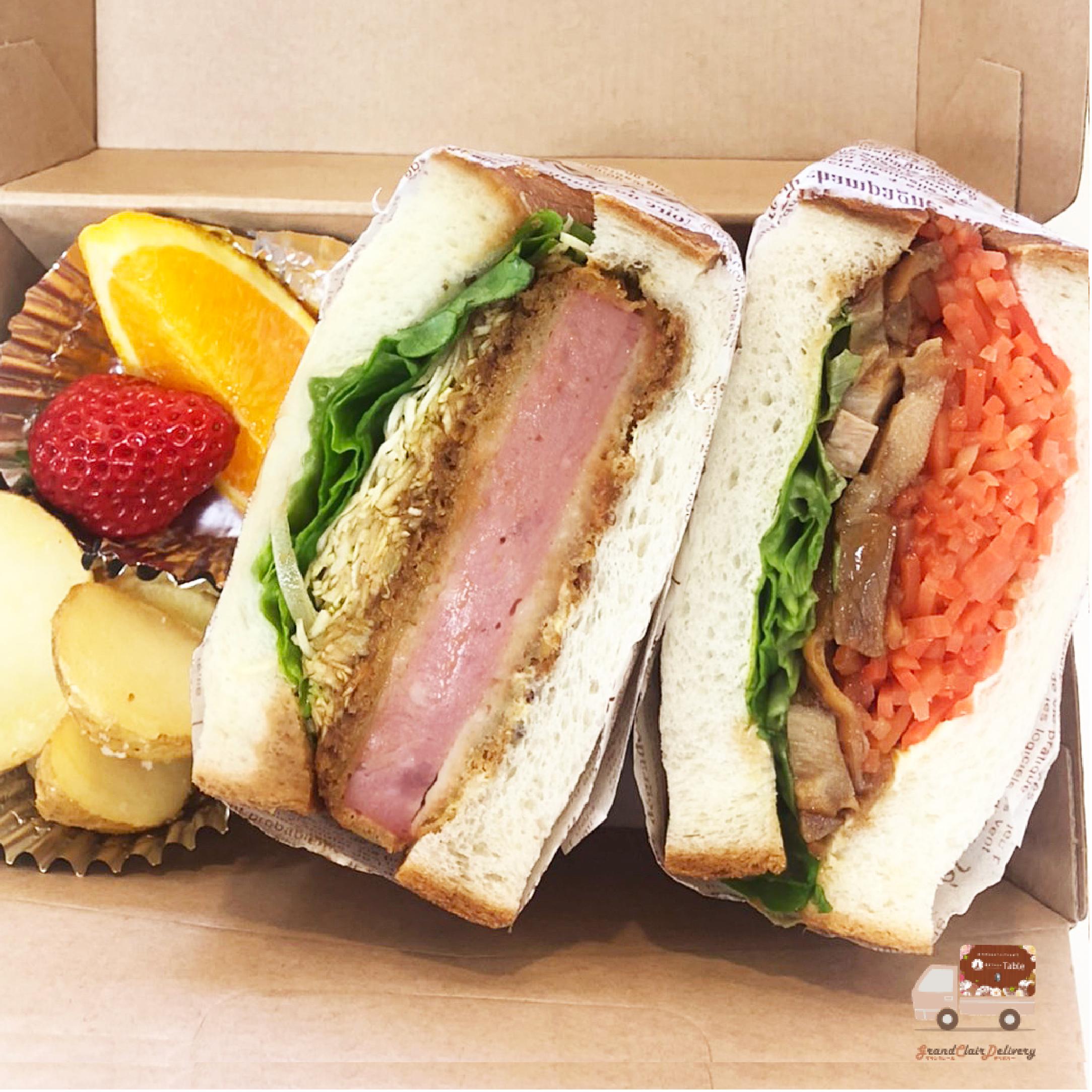 サンドウィッチBOX[ハムカツ・照り焼きチキン]画像