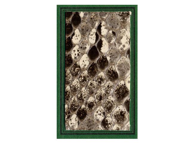 ニシキヘビ皮お守りの画像