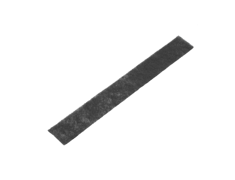 床ガラリ簡易フィルター(黒)74×600mmガラリ用画像