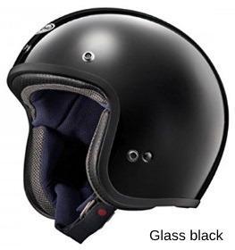 ARAI CLASSIC-MOD グラスブラックの画像