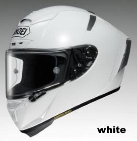 SHOEI X-Fourteen ホワイトの画像