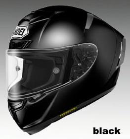 SHOEI X-Fourteen ブラックの画像