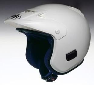 SHOEI TR-3 ホワイトの画像