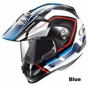 ARAI TOUR CROSS 3 DETOUR ブルー画像