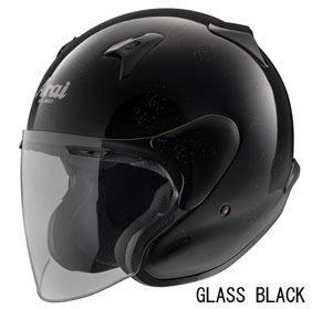 ARAI MZ-F グラスブラックの画像
