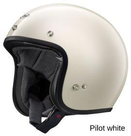 ARAI CLASSIC-MOD パイロットホワイト画像