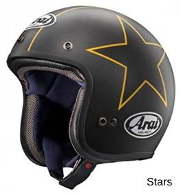 ARAI CLASSIC-MOD スターズの画像