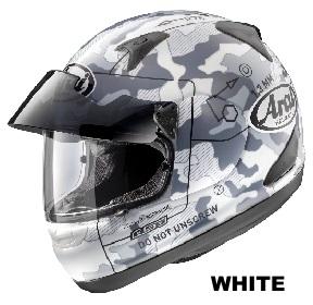 ARAI ASTRO PRO SHADE COMMAND ホワイトの画像
