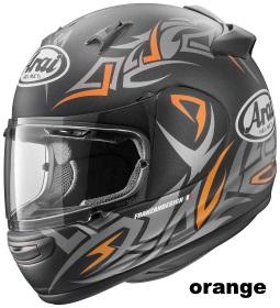 ARAI QUANTUM-J GROOVE オレンジの画像
