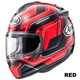 ARAI VECTOR-X PLACE レッド画像