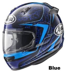 ARAI QUANTUM-J STING BLUEの画像