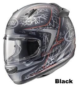 ARAI QUANTUM-J STING BLACKの画像