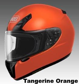 SHOEI RYD タンジェリンオレンジの画像