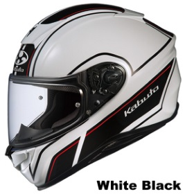 OGK AEROBLADE-5 SMART ホワイトブラック画像