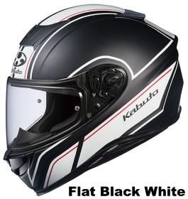 OGK AEROBLADE-5 SMART フラットブラックホワイトの画像