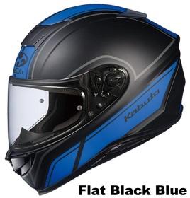 OGK AEROBLADE-5 SMART フラットブラックブルーの画像