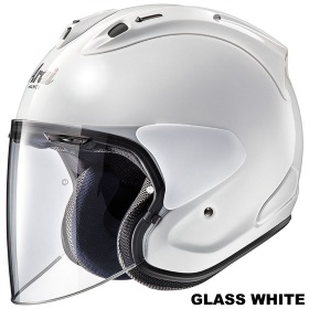 ARAI VZ-RAM グラスホワイト画像
