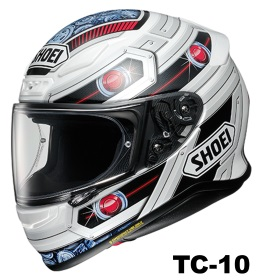 SHOEI Z-7 TROOPER TC-10の画像